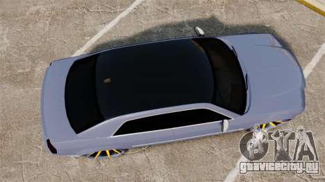 Chrysler 300C SRT8 для GTA 4 вид справа