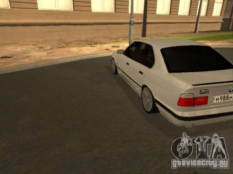 BMW 525 Smotra для GTA San Andreas вид справа