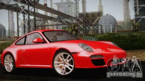 Porsche 911 Carrera для GTA San Andreas вид изнутри