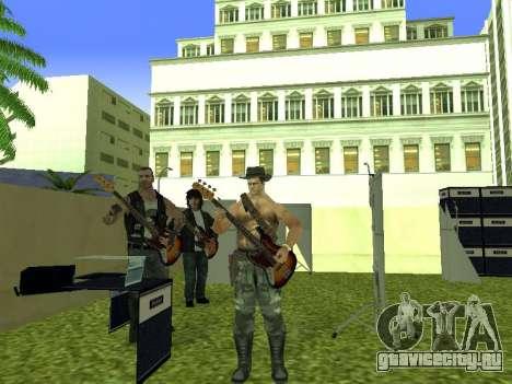 Концерт группы Кино для GTA San Andreas девятый скриншот