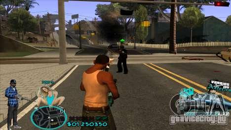 C-HUD Aztecaz by HARDy для GTA San Andreas третий скриншот