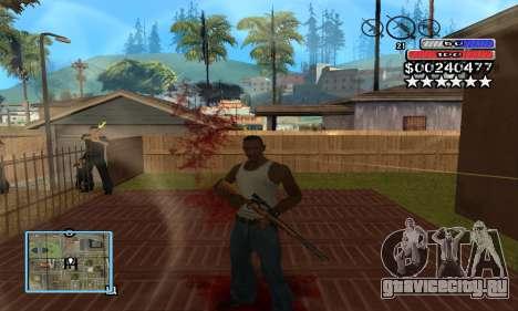 C-HUD by NickQuest для GTA San Andreas второй скриншот