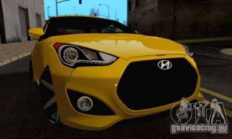 Hyundai Veloster для GTA San Andreas вид сбоку