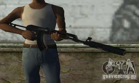 Silenced M70AB2 для GTA San Andreas третий скриншот