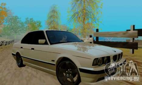 BMW 525 Re-Styling для GTA San Andreas вид сбоку