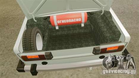 ВАЗ-2106 Жигули для GTA 4 вид сзади