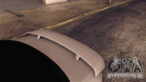 Volkswagen Bora GLI для GTA San Andreas вид сзади