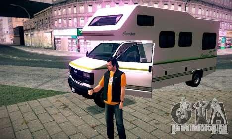 GTA V Camper для GTA San Andreas вид справа
