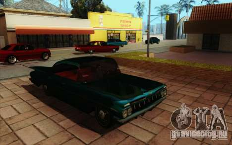 ENB HD CUDA 2014 v2.0 для GTA San Andreas шестой скриншот
