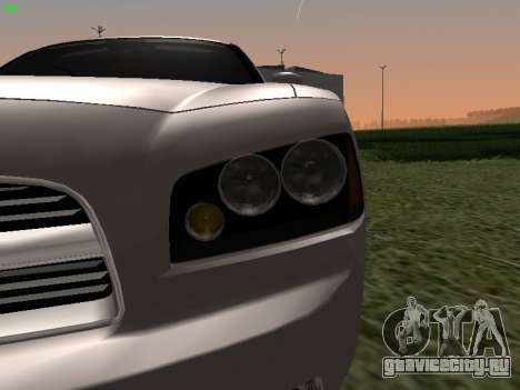 Dodge Charger RT 2008 для GTA San Andreas вид справа