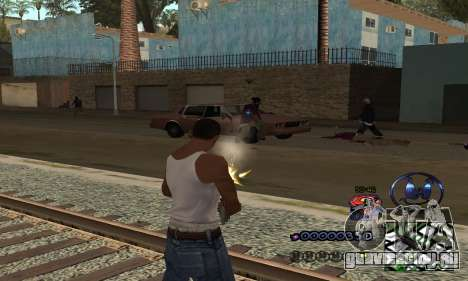 HUD by Anatole для GTA San Andreas третий скриншот