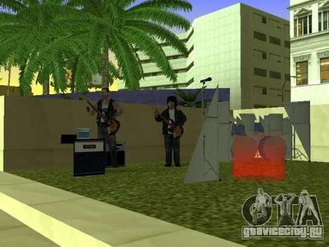 Концерт группы Кино для GTA San Andreas третий скриншот