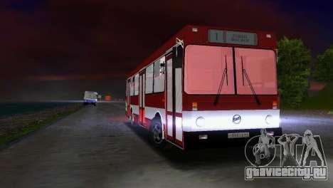 ЛиАЗ-5256 для GTA Vice City вид сзади