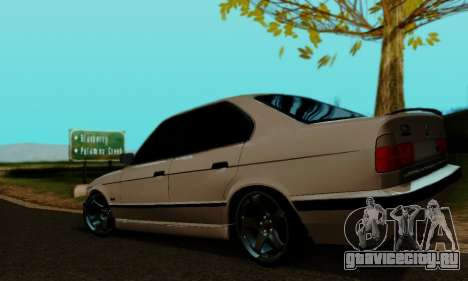 BMW 525 Re-Styling для GTA San Andreas вид слева
