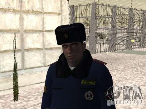 Пак милиционеров в зимней форме для GTA San Andreas третий скриншот