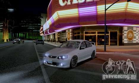 ENB CUDA 2014 for Low PC для GTA San Andreas второй скриншот
