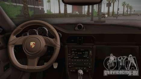 Porsche 911 Carrera для GTA San Andreas вид сзади
