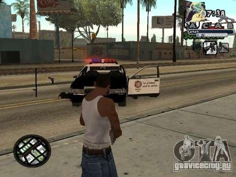 C-Hud Woozie Tawer для GTA San Andreas второй скриншот