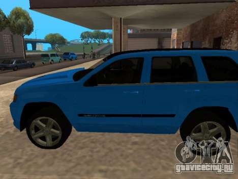 Jeep Grand Cherokee SRT8 Restyling M для GTA San Andreas вид слева