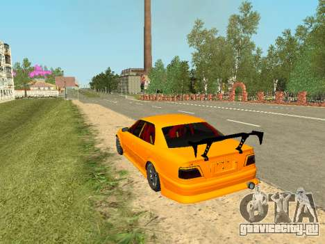 Toyota Сhaser для GTA San Andreas вид справа