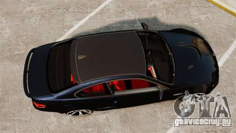 BMW M3 E92 AC Schnitzer ACS3-Sport v2.0 для GTA 4 вид справа
