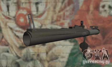 M72 LAW для GTA San Andreas второй скриншот