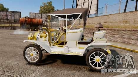 Ford Model T 1910 для GTA 4 вид слева