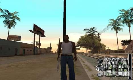 C-HuD Black White для GTA San Andreas
