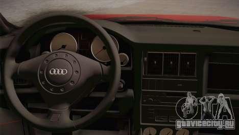 Audi 80 B4 RS2 для GTA San Andreas вид сзади