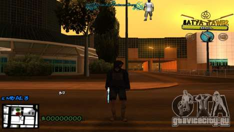 C-Hud by Baton Batya для GTA San Andreas второй скриншот