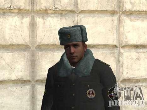 Пак милиционеров в зимней форме для GTA San Andreas второй скриншот
