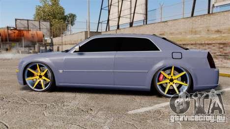 Chrysler 300C SRT8 для GTA 4 вид слева