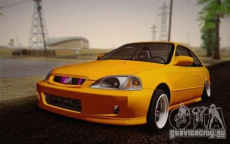 Honda Civic 1999 Si для GTA San Andreas