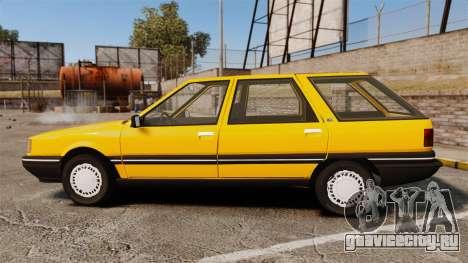 Renault 21 Nevada GTD для GTA 4 вид слева
