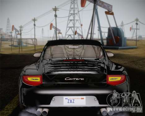 Porsche 911 Carrera для GTA San Andreas салон