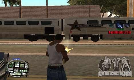 C-HUD (LSPD) для GTA San Andreas второй скриншот