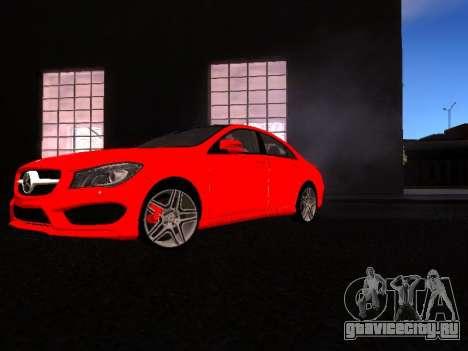 Mercedes-Benz CLA 250 для GTA San Andreas вид слева