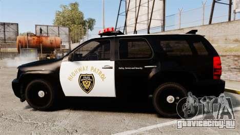 Chevrolet Tahoe 2007 LCHP [ELS] для GTA 4 вид слева