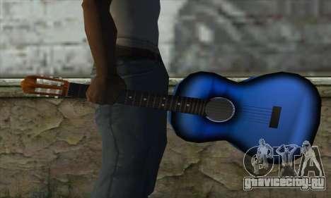 Гитара для GTA San Andreas третий скриншот