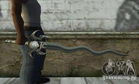 Soul Reaver Sword для GTA San Andreas третий скриншот