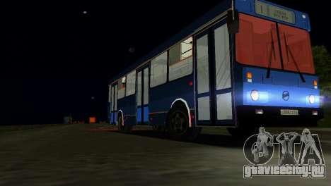 ЛиАЗ-5256 для GTA Vice City вид сбоку