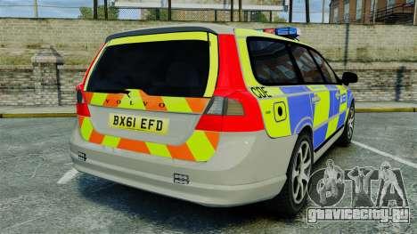 Volvo V70 Metropolitan Police [ELS] для GTA 4