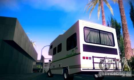 GTA V Camper для GTA San Andreas вид слева
