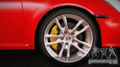 Porsche 911 Carrera для GTA San Andreas вид справа
