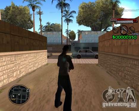 C-HUD by Santoro для GTA San Andreas второй скриншот