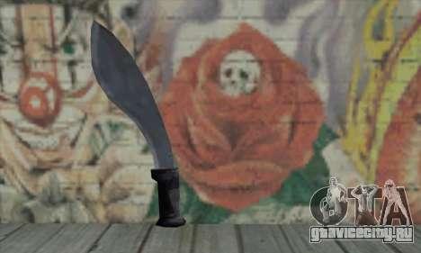 Меч для GTA San Andreas второй скриншот