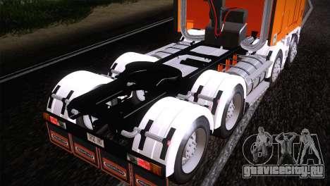 Freightliner Argosy 8x4 для GTA San Andreas вид справа
