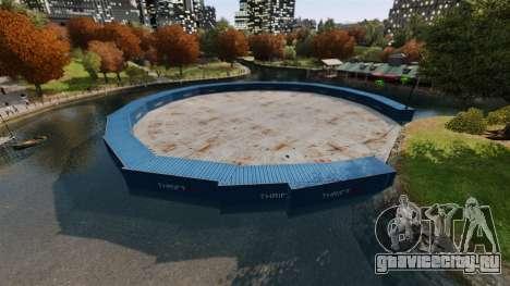 Открытая арена для боёв автотранспорта v2.0 для GTA 4