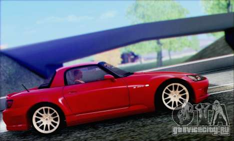 Honda S2000 Daily для GTA San Andreas вид снизу