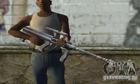 AUG из Counter Strike для GTA San Andreas третий скриншот